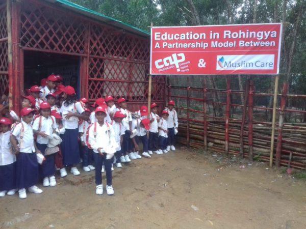 Childrens' Day Care Centre, Kutupalong Rohingya Camp, Bangladesh